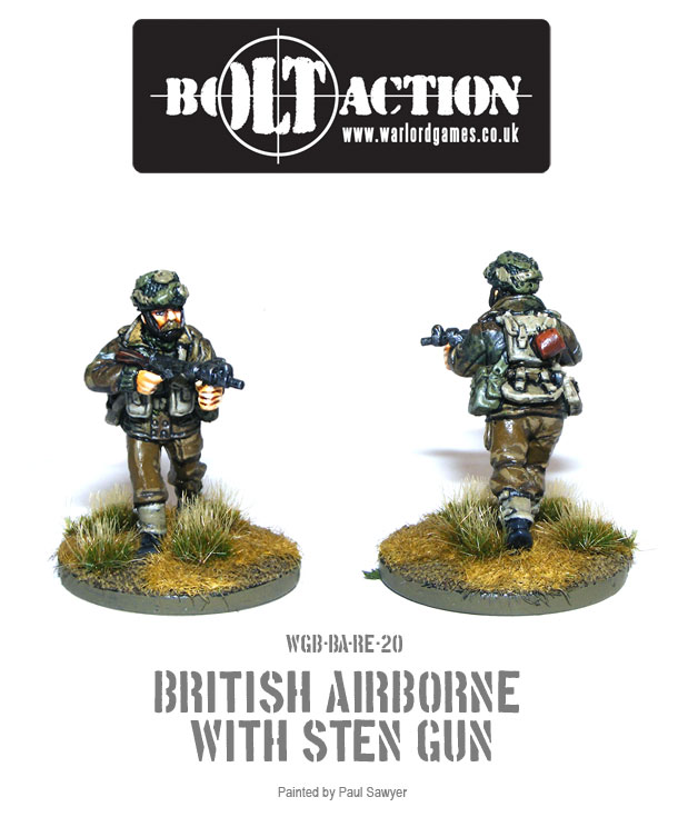 Bolt Action Red Devils Reinforcements 20