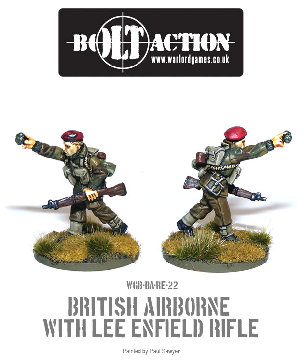 Bolt Action Red Devils Reinforcements 22