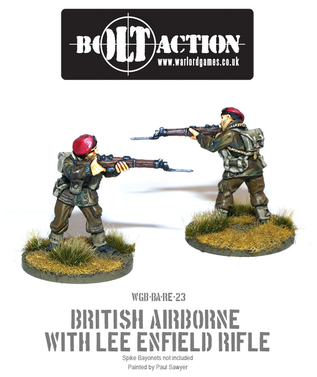 Bolt Action Red Devils Reinforcements 23