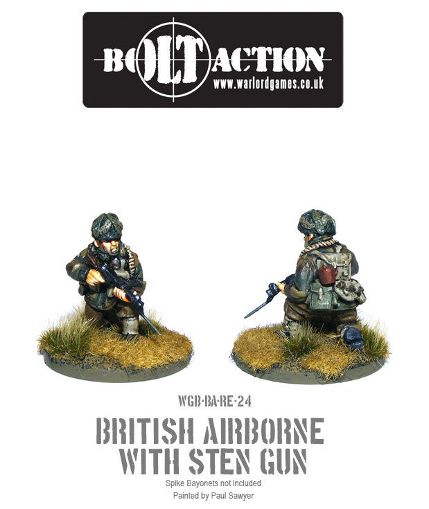 Bolt Action Red Devils Reinforcements 24