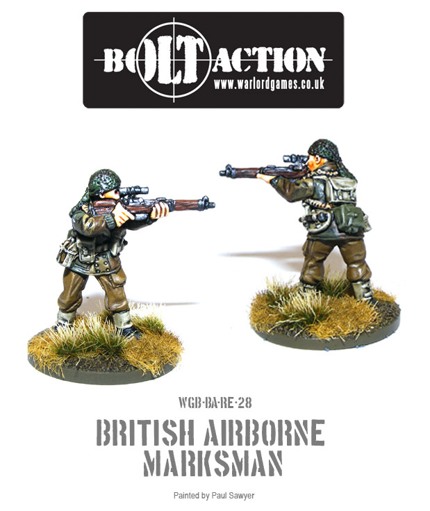 Bolt Action Red Devils Reinforcements 28
