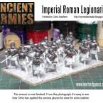 Painting Legionaries