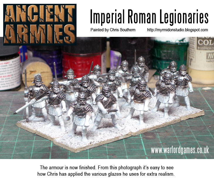 Painting Imperial Roman Legionaries - Armour