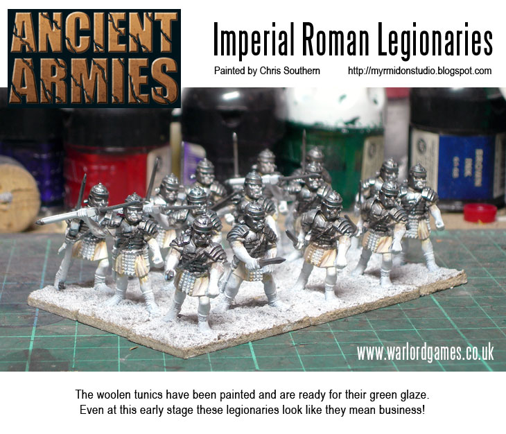 Painting Imperial Roman Legionaries - Tunics