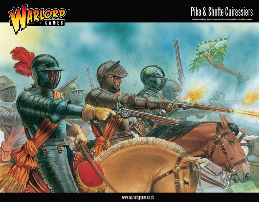 Pike & Shotte Cuirassiers Boxed Set artwork