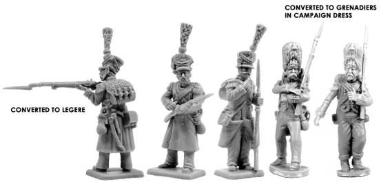 Victrix Old Guard Grenadiers examples - Warlord Games