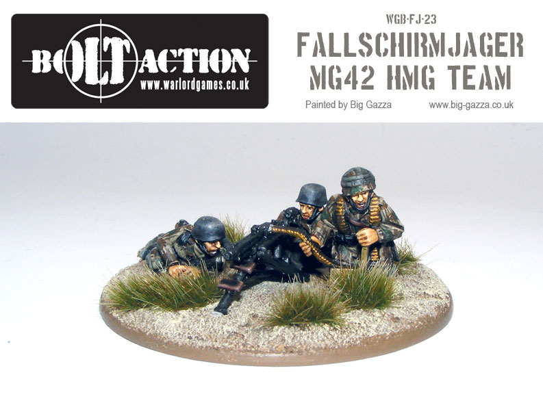Fallschirmjager MG42 Team 2