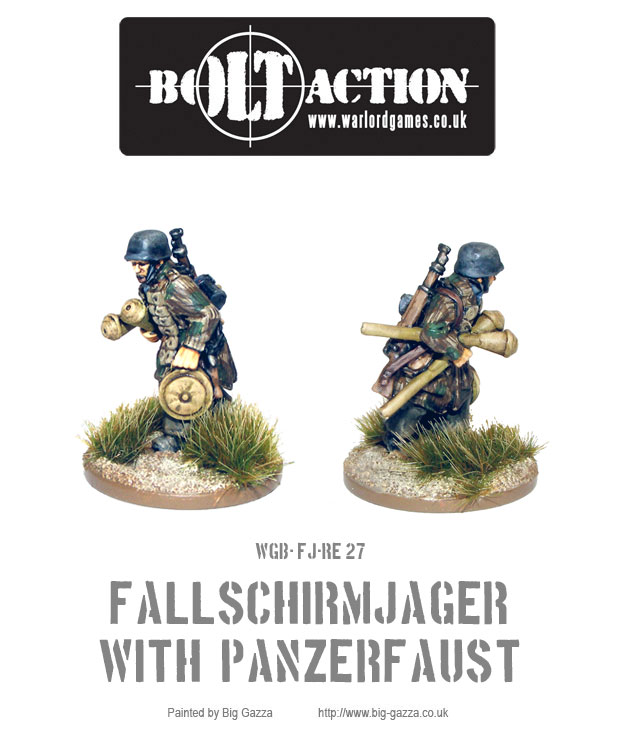 Fallschirmjager with Panzerfaust