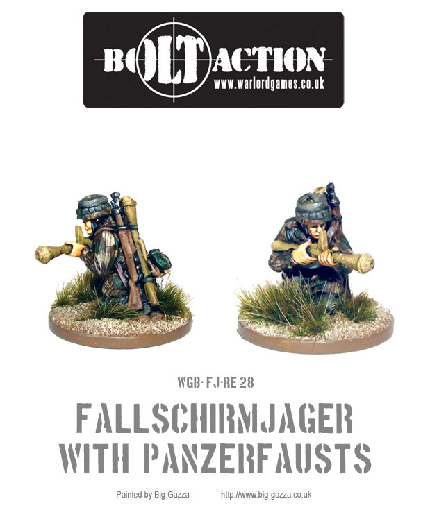 Fallschirmjager with Panzerfausts 2