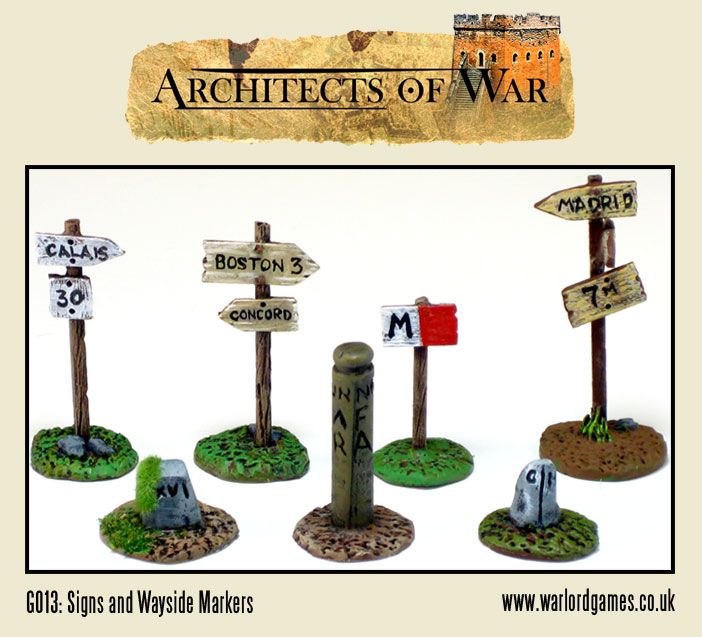 Architects of War Signs
