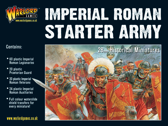Imperial Roman Starter Army Boxed Set Cover