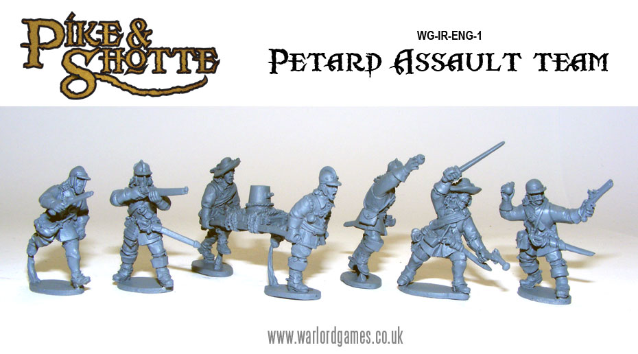 Pike & Shotte Petard Assault Team