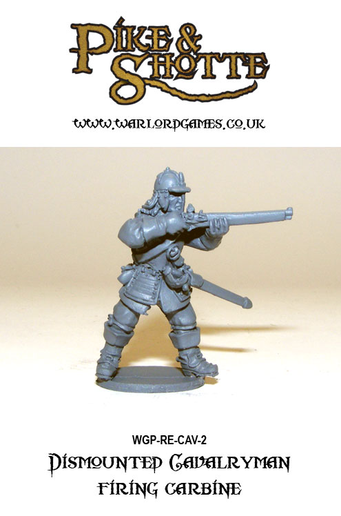 Pike & Shotte Dismounted Cavalry 2