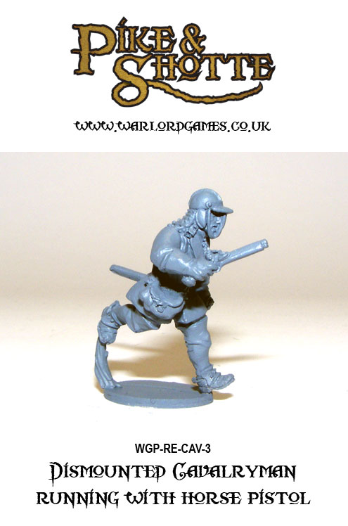 Pike & Shotte Dismounted Cavalry 3