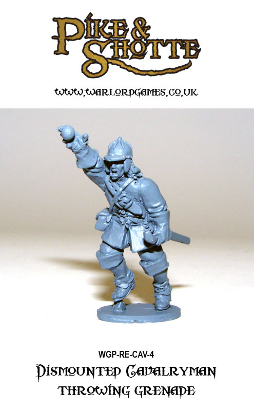 Pike & Shotte Dismounted Cavalry 4