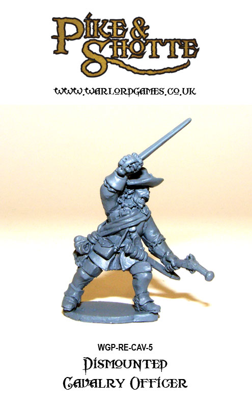 Pike & Shotte Dismounted Cavalry 5