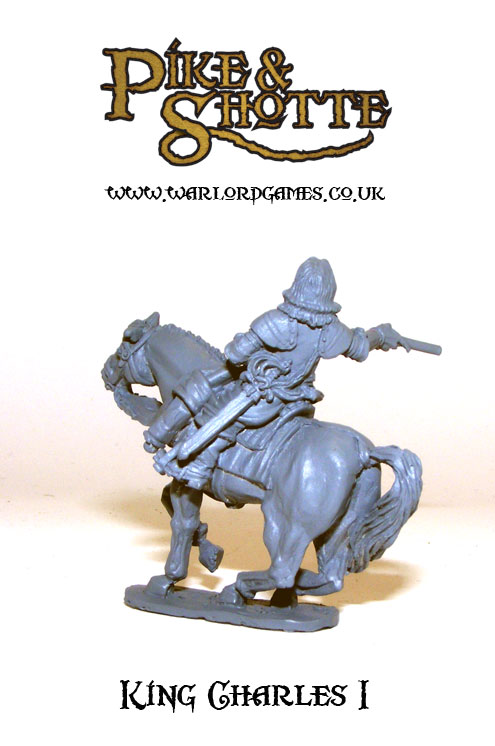 King Charles I rear