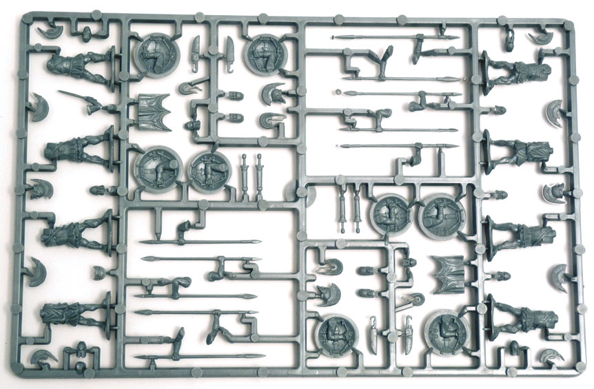 Immortal Miniatures Greek Hoplites Infantry sprue