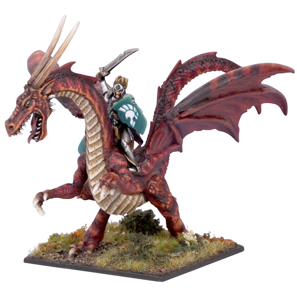Elf Lord on Battle Dragon