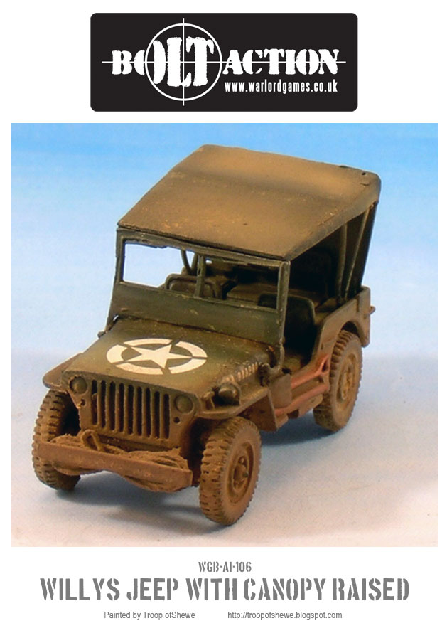 Willys Jeep with canopy front