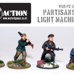 New! Partisans with LMGs