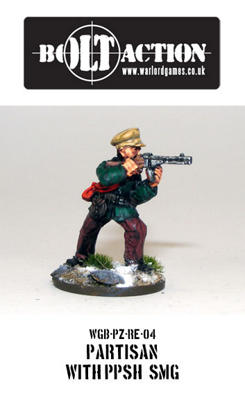 Partisan with PPSh