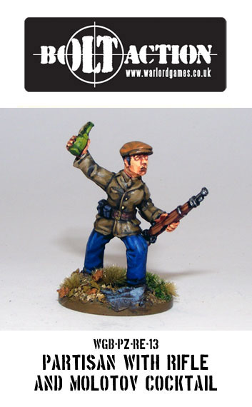 Partisan with Molotov Cocktail