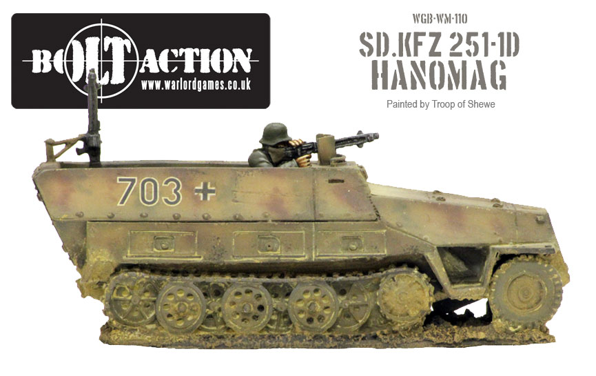Sd. Kfz 251-1D Side