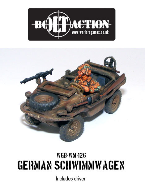 German Scwimmwagen