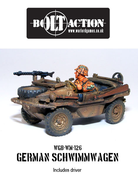 German Schwimmwagen Side
