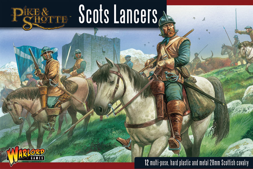 Pike &amp; Shotte Scots Lancers Boxed Set