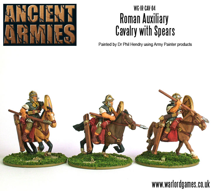 Imperial Roman Auxiliary Cavalry with Spears 2