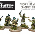 Bolt Action French Infantry Command Group
