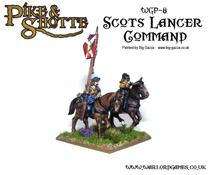 Pike &amp; Shotte Scots Lancers Command