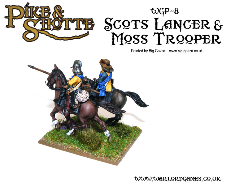 Pike &amp; Shotte Scots Lancers with Moss
