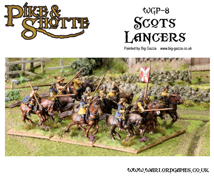 Pike &amp; Shotte Scots Lancers 1