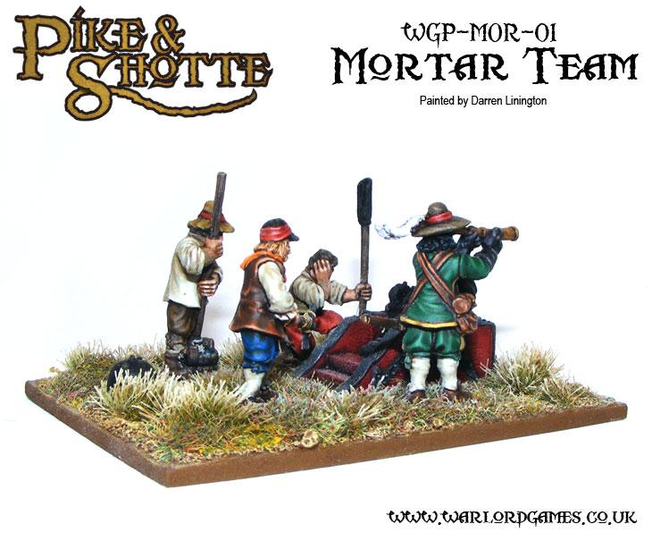 Darren Linington's Pike & Shotte Mortar Team 3