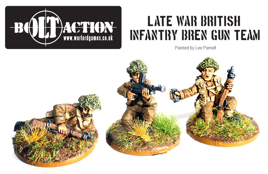 Lee Parnell's Bolt Action British 6