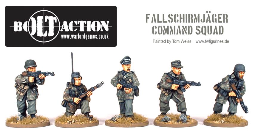Fallschirmjäger Command Squad