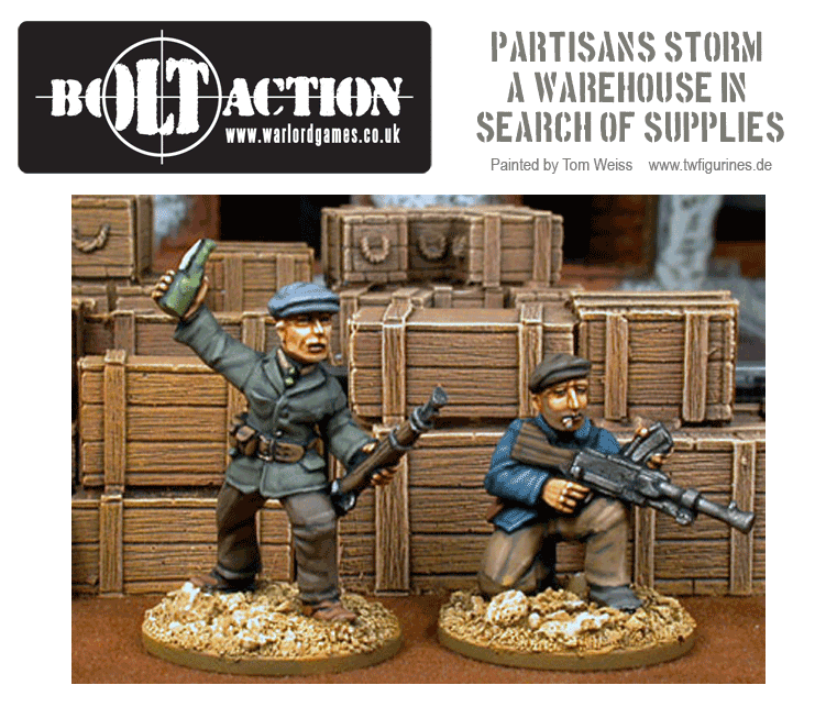 Partisans Storm a Warehouse in Search of Supplies.