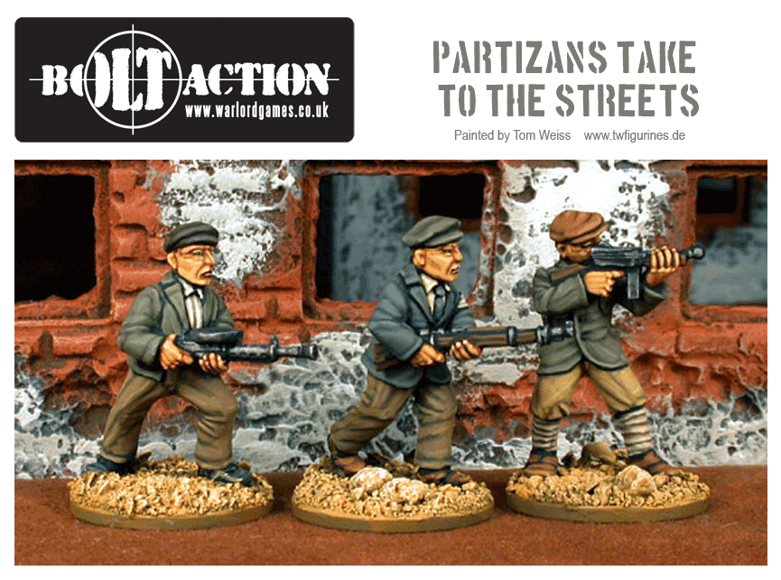 Partizans Take to the Streets.