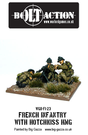 Bolt Action French HMG Team