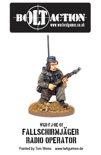 Fallschirmjäger Radio Operator