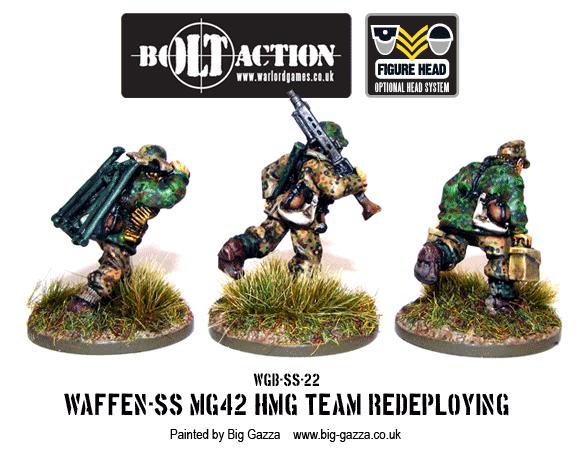Waffen-SS MG-42 Team Redeploying 2