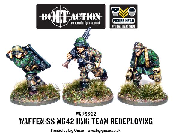 Waffen-SS MG42 Team Redeploying 1