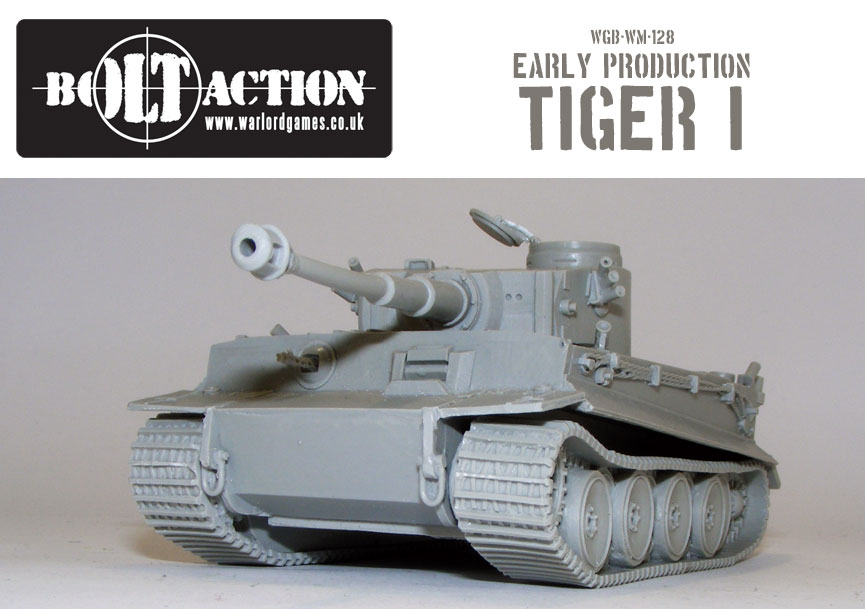 Bolt Action Early Production Tiger 1