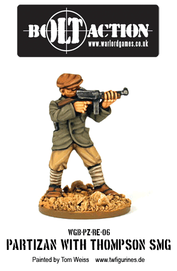 Partizan with Thompson SMG