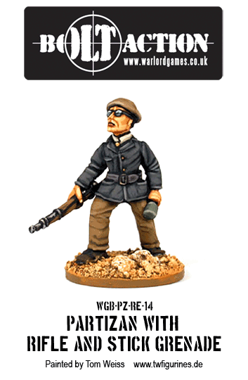 Partizan with Rifle and Stick Grenade