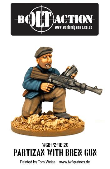 Partizan with Bren Gun