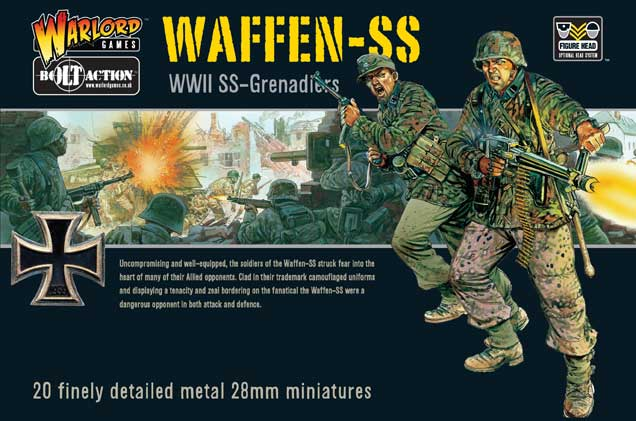 Bolt Action Waffen-SS Boxed Set Cover